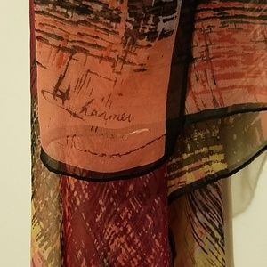 Large colorful scarf